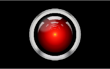 It feels like HAL 9000 belongs in a different movie