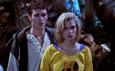 The Buffy movie, while not good, has some stuff going on