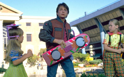 Back To the Future Part II isn't trying to predict the future